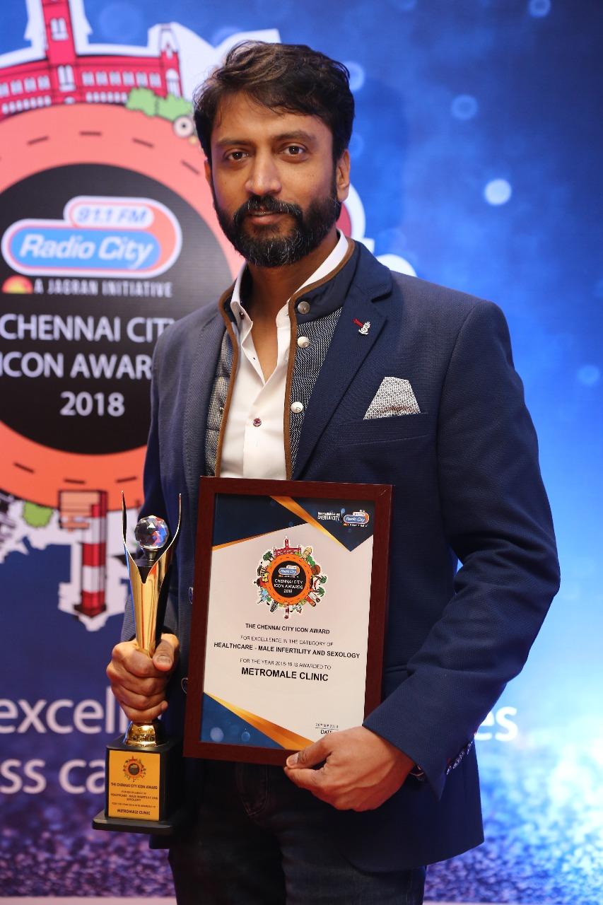 dr-karthik-gunasekaran-awarded-chennai-city-icon-award-men-health