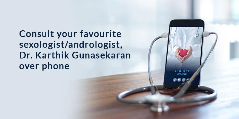 Consult Dr. Karthik Gunasekaran Online Phone Consultation