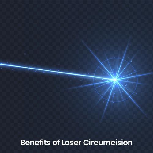 Benefits of Holmium YAG Laser in circumcision compared to conventional circumcision